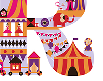R is for the Ringling Circus