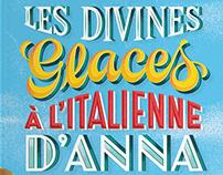 Book covers with Lucia Calfapietra