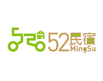 52MingSu logo design