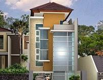 Desain Arsitektur Klinik Dokter Bedah Ngagel Surabaya