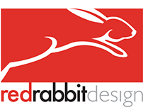 red rabbit design branding