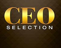 CEO Selection notedbook cover design