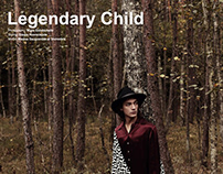 """Legendary Child"" editorial for HERMOSO magazine"