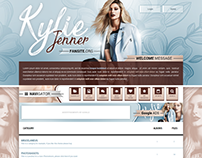 Kylie Jenner Fansite // Coppermine Premium Theme - 2017