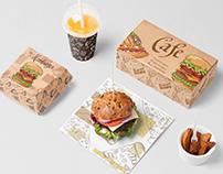 Fast food restaurant template