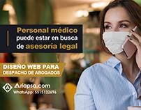 Diseño de sitios web para abogados, Ariapsa.com