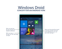 Android Fork by Microsoft (Concept)
