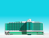 Hotel Duna Intercontinental concept