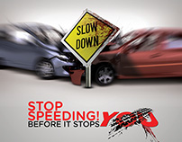 Traffic Rules Campaign ( Over speeding )