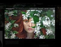 photographer portfolio | layout