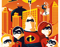 Official THE INCREDIBLES Poster