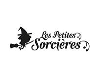 """logo """"les petites sorcières"""""""