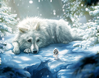 There once was a wolf... (Winter Series III)