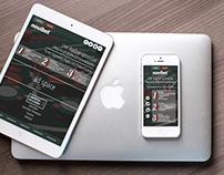 UI & Landing Page for Web Casino