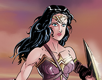 Wonder Woman Color Sample