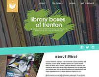 Library Boxes of Trenton site