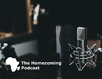 Homecoming Podcast Branding