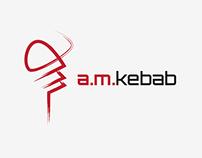 A.M. Kebab   Logo Design