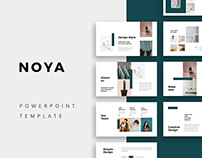 NOYA - Stylish Powerpoint Presentation Template