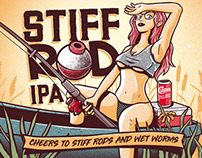 IPA Label Art Concept