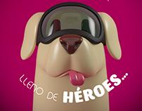 PERRITA FRIDA (ILUSTRACIÓN 3D)