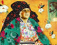 Fashion&classic paintings for Sobaka.ru