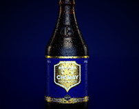 CGI 3D Chimay Bleue beer bottle personal project