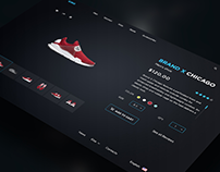 King - Store PSD Template