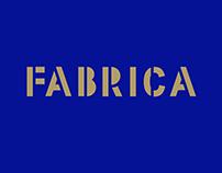 FABRICA   Typeface