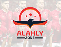 Alahly Zone - Logo