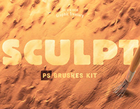 Sculpt Brushes for Photoshop