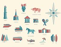 Colonia del Sacramento. Mapa-Guía