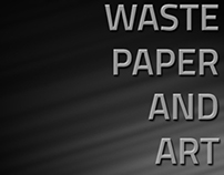 Waste Paper and Art ( Ring )
