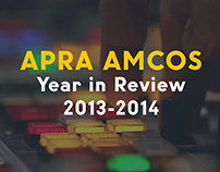 APRA AMCOS Sustainability Report Site