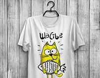 Como cat. T-shirt prints.