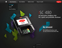 Ingenico POS ISC480 website proposal