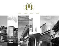 GK Architect - Website visual pitch