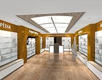 Proyecto interior farmacia Llagostera (opción 02)