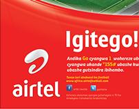 Airtel Rwanda Artwork's