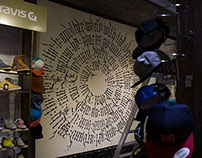 Calligraphy in ProSport shop