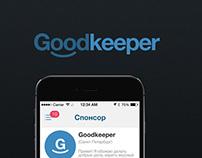 Goodkeeper | App