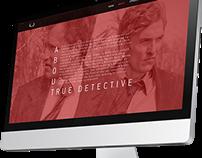 Webdesign True Detective