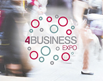 4 Business Expo | Logo, Website & Exhibition Design