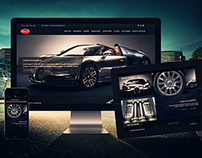 Bugatti Website Design
