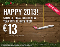 Volotea Happy 2013!