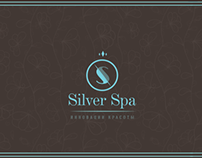 Silver SPA, beauty studio (logo, card, flyer, sign…)
