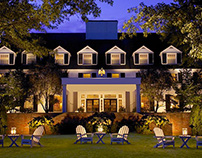 Woodstock Inn Web Design for Origin Design