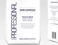 Packaging Design: Coffee Planet Professional Series