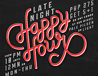 Main Street: Happy Hour Promo
