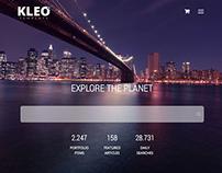 KLEO - Pinterest Style Theme